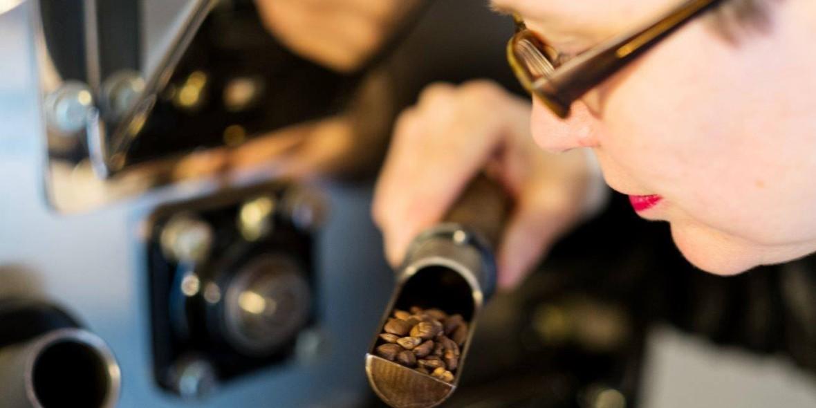 Kaffeeroesten bringt Genuss