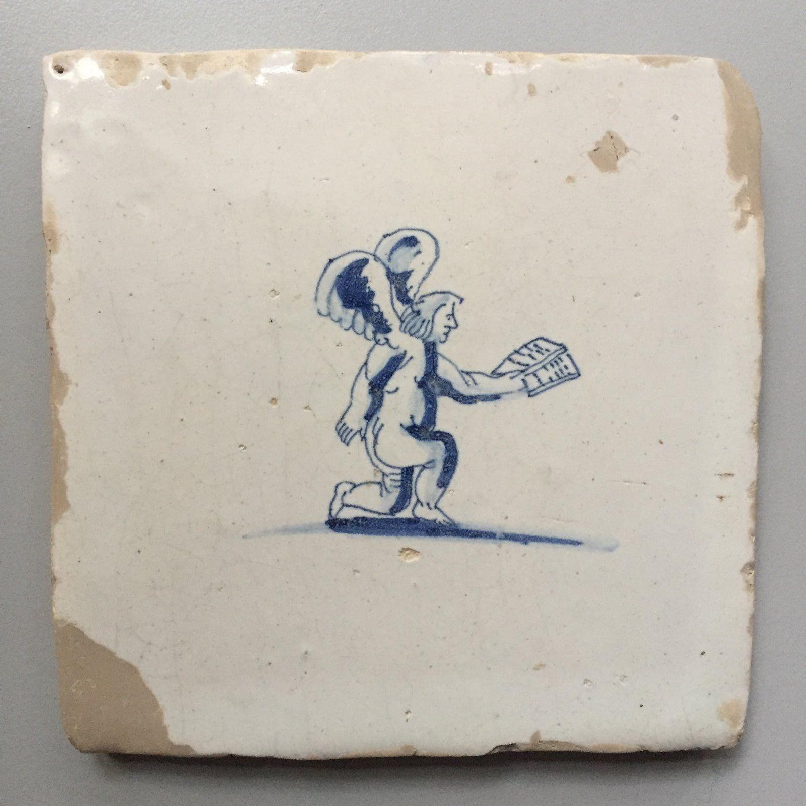 alte niederländische Wandkachel