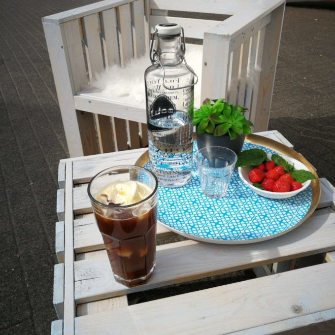 Kaffee im Sommer