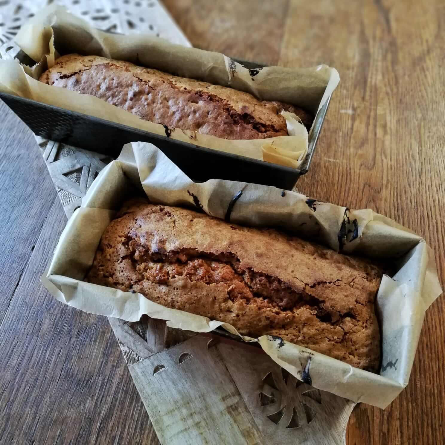Beitragsbild - einfacher Karottenkuchen - in der Backform