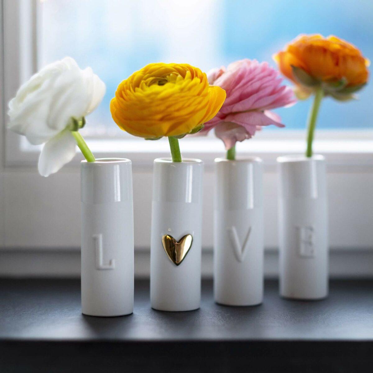 Mini Vasen Set Love