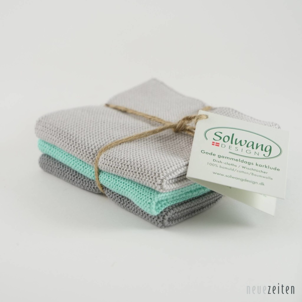 3er Set Wischtücher von Solwang Design